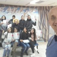 מסיבת סיום קורס עברית תעסוקתית